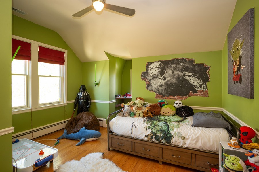 Real Estate Photography - 11 Gillick, Park Ridge, IL, 60068 - 2nd Bedroom