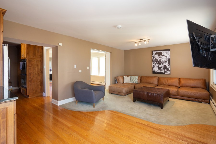 Real Estate Photography - 11 Gillick, Park Ridge, IL, 60068 - Family Room