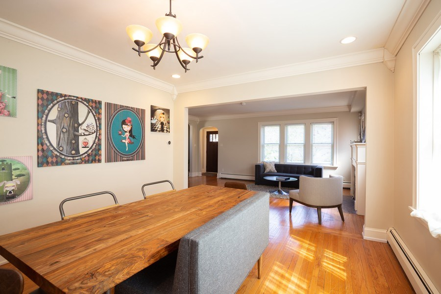 Real Estate Photography - 11 Gillick, Park Ridge, IL, 60068 - Dining Room