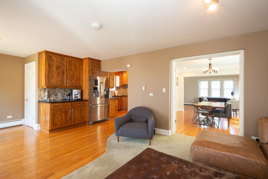 Real Estate Photography - 11 Gillick, Park Ridge, IL, 60068 - Family Room / Dining Room