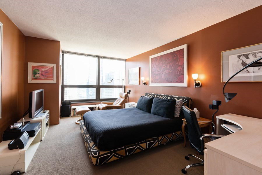 Real Estate Photography - 360 E RandolphSt., #3305, Chicago, IL, 60601 - Master Bedroom