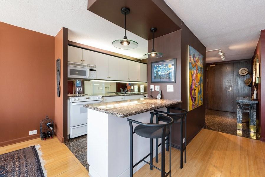 Real Estate Photography - 360 E RandolphSt., #3305, Chicago, IL, 60601 - Kitchen / Breakfast Room