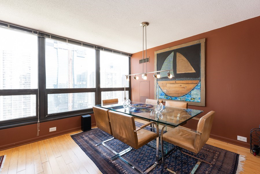 Real Estate Photography - 360 E RandolphSt., #3305, Chicago, IL, 60601 - Dining Room