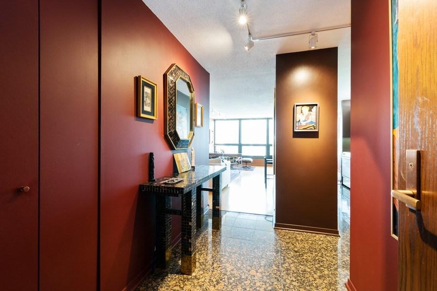 Real Estate Photography - 360 E RandolphSt., #3305, Chicago, IL, 60601 - Foyer