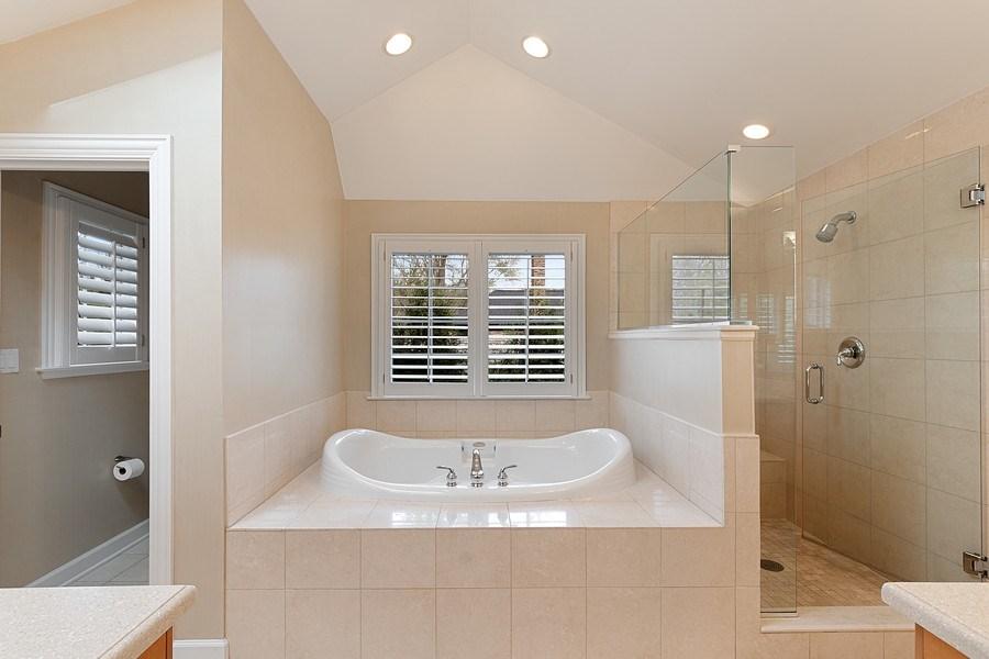 Real Estate Photography - 991 Marion, Highland Park, IL, 60035 - Master Bathroom