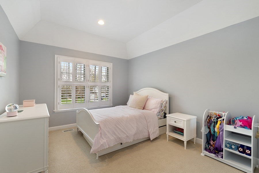 Real Estate Photography - 991 Marion, Highland Park, IL, 60035 - 3rd Bedroom