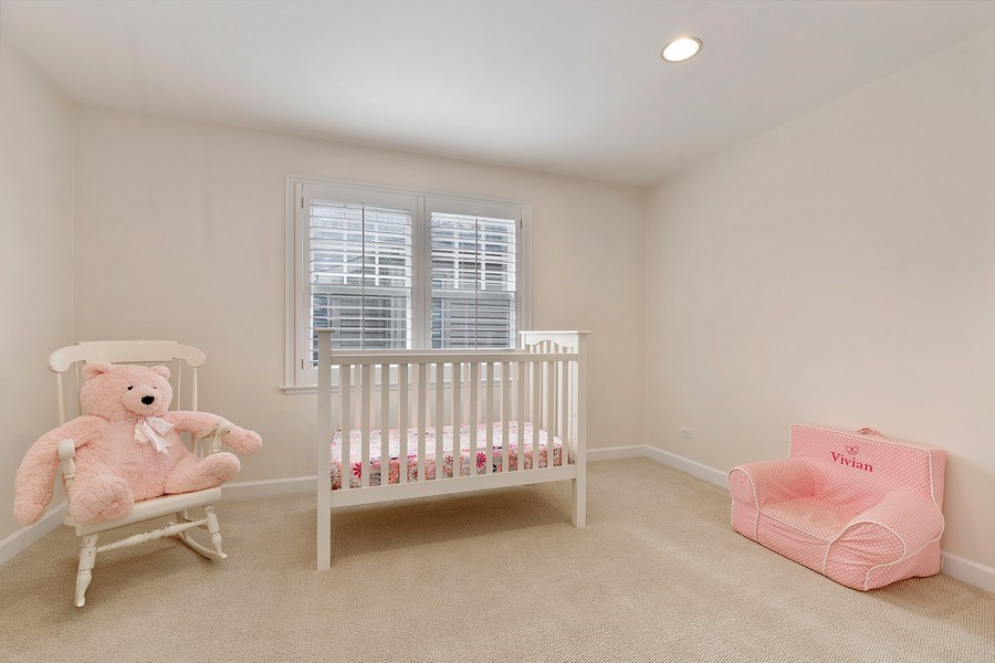 Real Estate Photography - 991 Marion, Highland Park, IL, 60035 - 2nd Bedroom