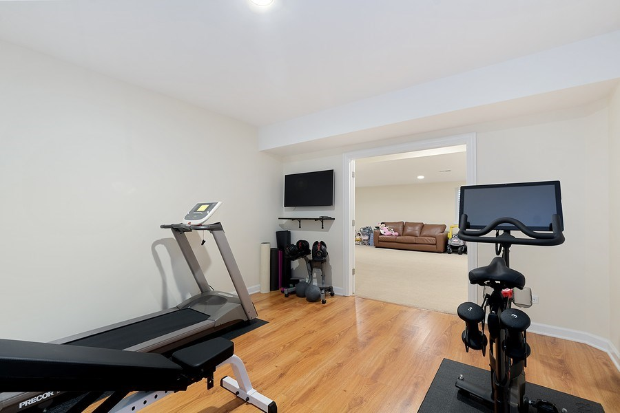 Real Estate Photography - 991 Marion, Highland Park, IL, 60035 - Exercise Room