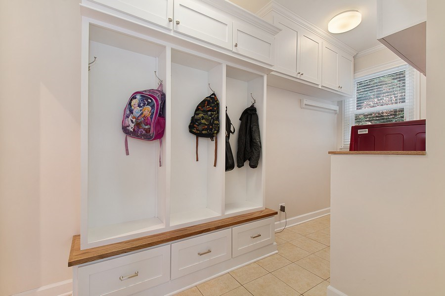 Real Estate Photography - 991 Marion, Highland Park, IL, 60035 - Mudroom