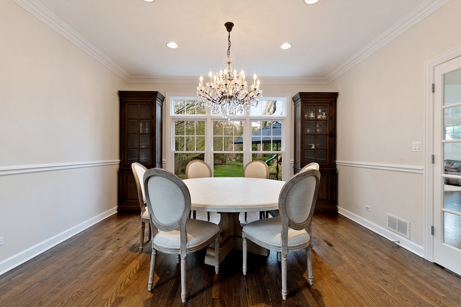 Real Estate Photography - 991 Marion, Highland Park, IL, 60035 - Dining Room