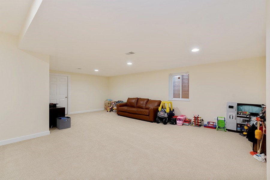 Real Estate Photography - 991 Marion, Highland Park, IL, 60035 - Recreation Room