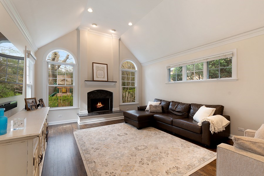 Real Estate Photography - 991 Marion, Highland Park, IL, 60035 - Family Room