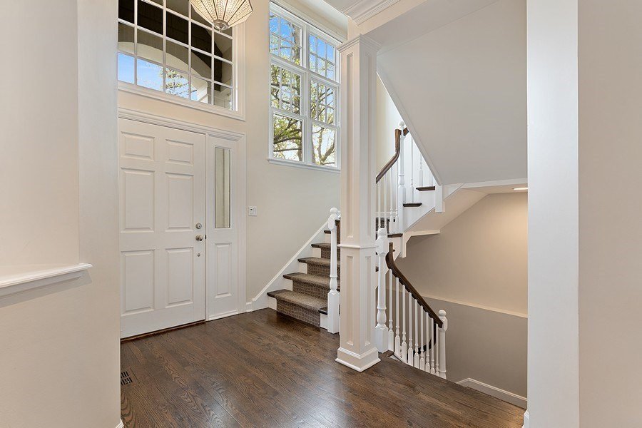 Real Estate Photography - 991 Marion, Highland Park, IL, 60035 - Foyer