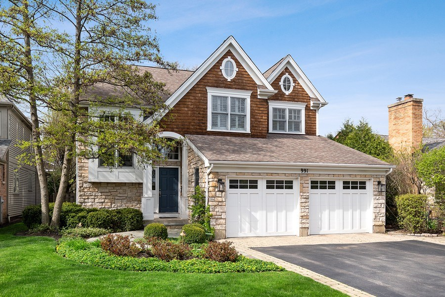 Real Estate Photography - 991 Marion, Highland Park, IL, 60035 - Front View