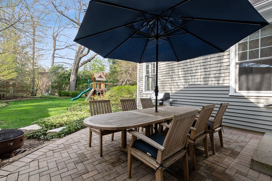 Real Estate Photography - 991 Marion, Highland Park, IL, 60035 - Patio