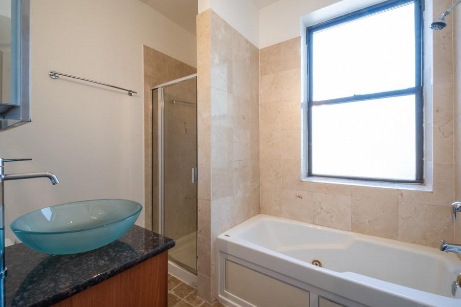 Real Estate Photography - 1352 W Bryn Mawr Ave., #1, Chicago, IL, 60660 - Master Bathroom
