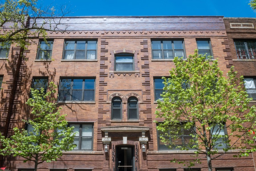 Real Estate Photography - 1352 W Bryn Mawr Ave., #1, Chicago, IL, 60660 - Front View