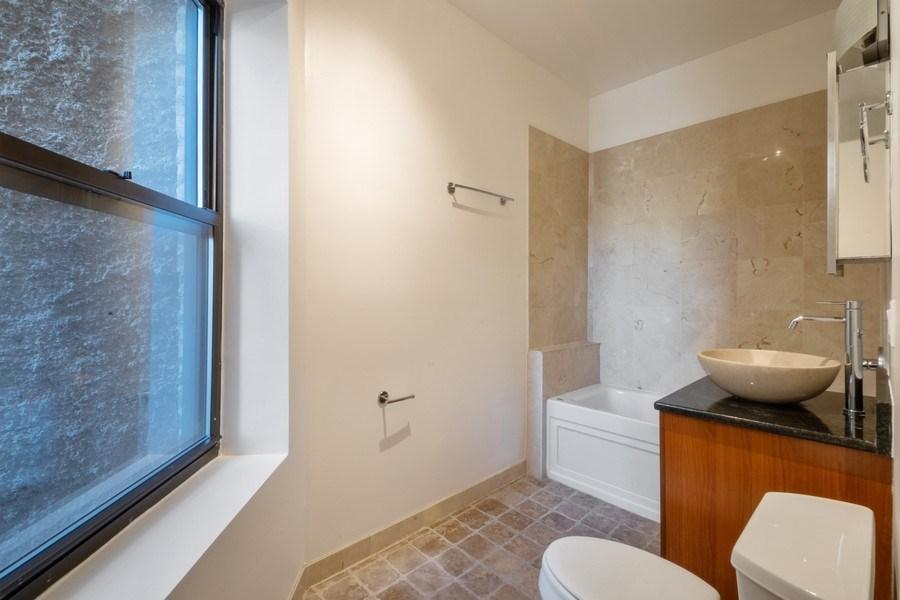 Real Estate Photography - 1352 W Bryn Mawr Ave., #1, Chicago, IL, 60660 - Bathroom