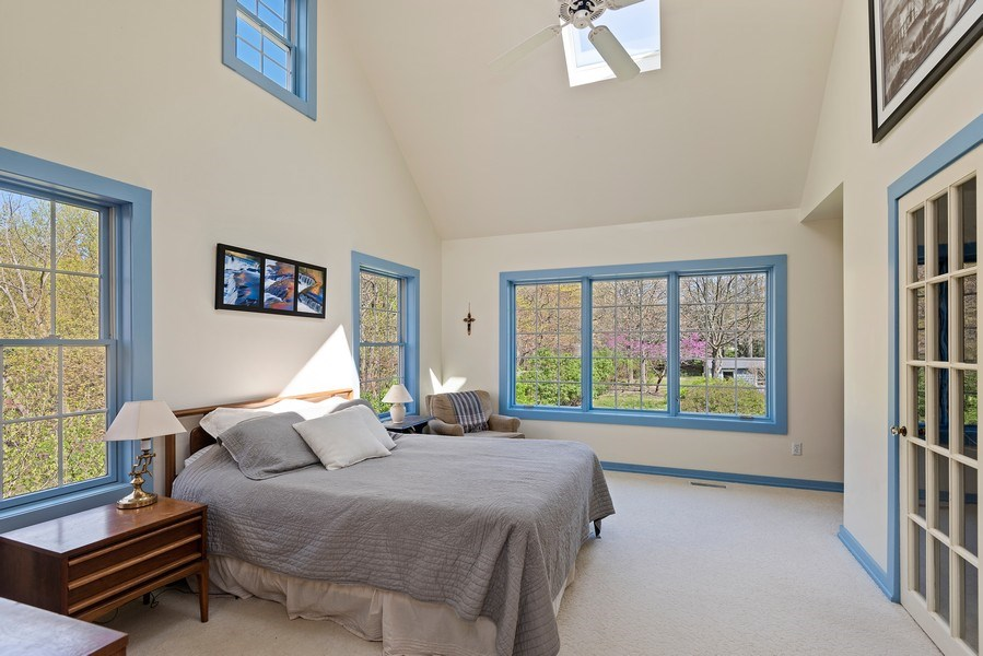 Real Estate Photography - 3191 Khan Path, Stevensville, MI, 49085 - Master Bedroom