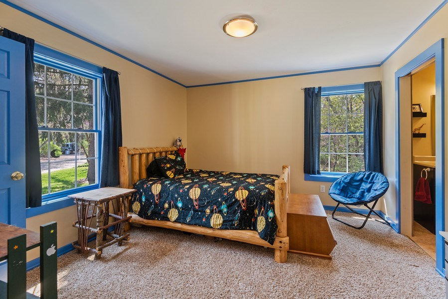 Real Estate Photography - 3191 Khan Path, Stevensville, MI, 49085 - Bedroom