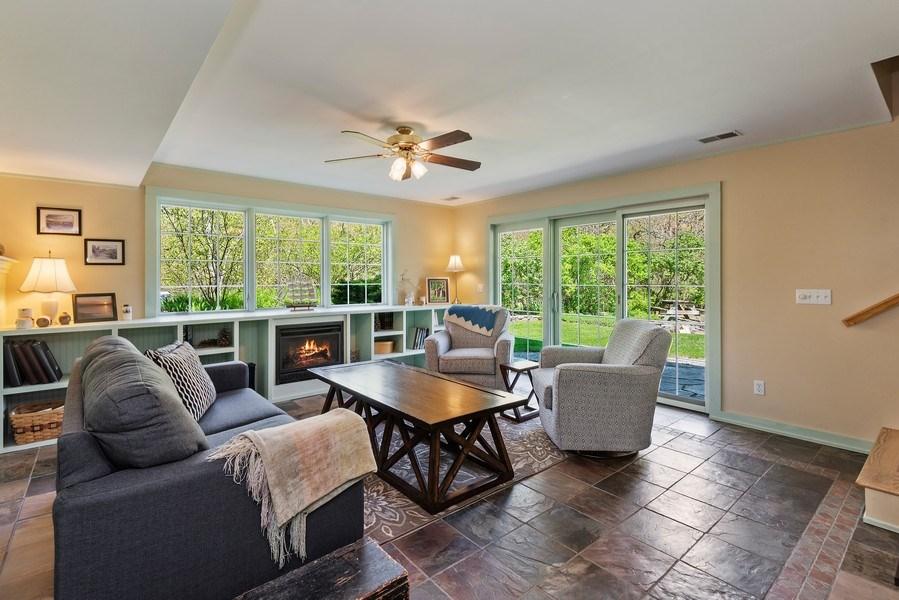 Real Estate Photography - 3191 Khan Path, Stevensville, MI, 49085 - Family Room