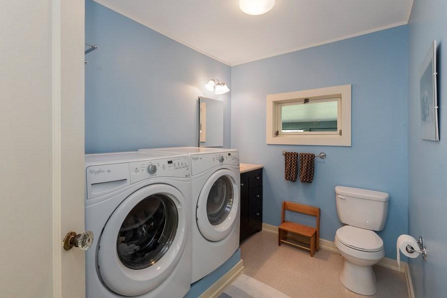Real Estate Photography - 3191 Khan Path, Stevensville, MI, 49085 - Laundry Room