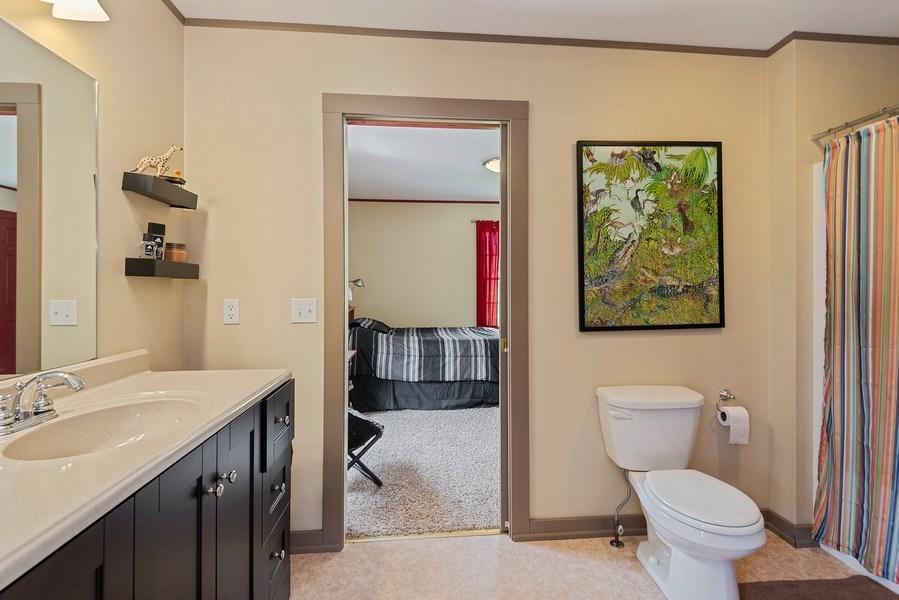 Real Estate Photography - 3191 Khan Path, Stevensville, MI, 49085 - Bathroom