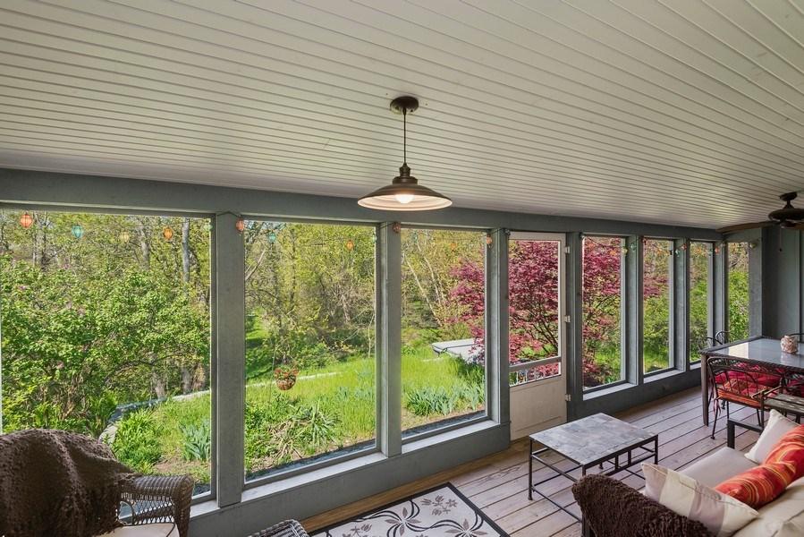 Real Estate Photography - 3191 Khan Path, Stevensville, MI, 49085 - Sun Room