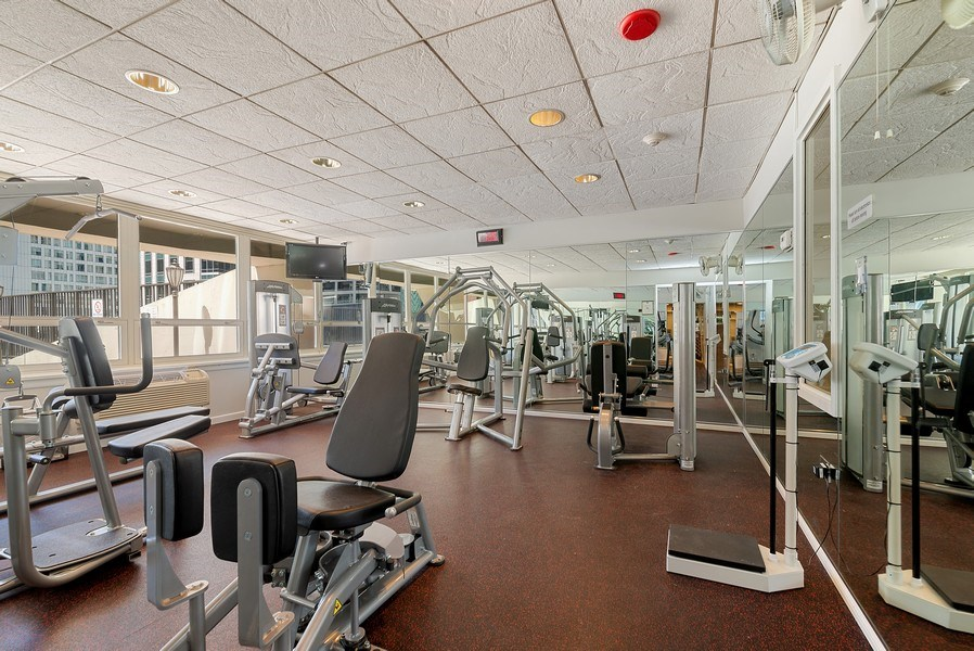Real Estate Photography - 111 E Chestnut, #11J, Chicago, IL, 60611 - Exercise Room