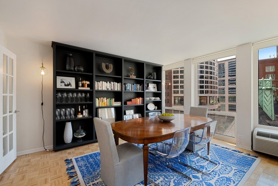 Real Estate Photography - 111 E Chestnut, #11J, Chicago, IL, 60611 - Dining Room