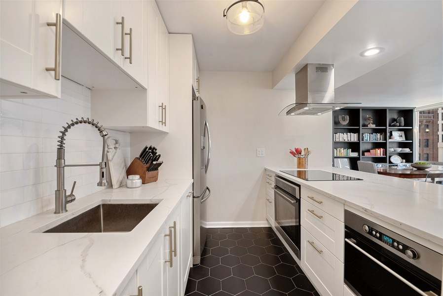Real Estate Photography - 111 E Chestnut, #11J, Chicago, IL, 60611 - Kitchen