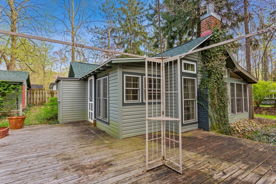 Real Estate Photography - 9217 Shady Ln, Lakeside, MI, 49116 - Deck