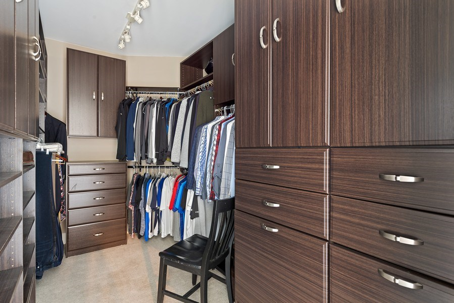 Real Estate Photography - 2550 N Lakeview Ave, Unit S1201, Chicago, IL, 60614 - Master Bedroom Closet