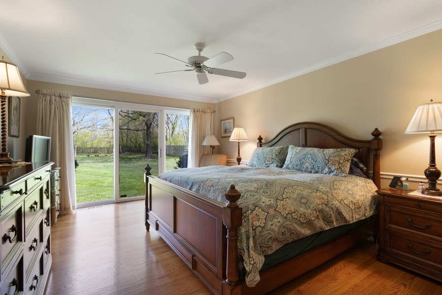 Real Estate Photography - 1570 Everett, Lake Forest, IL, 60045 - Master Bedroom