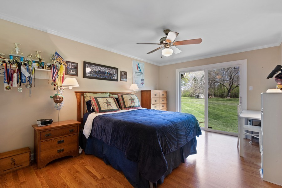 Real Estate Photography - 1570 Everett, Lake Forest, IL, 60045 - 2nd Bedroom