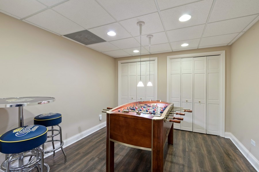 Real Estate Photography - 1570 Everett, Lake Forest, IL, 60045 - Game room