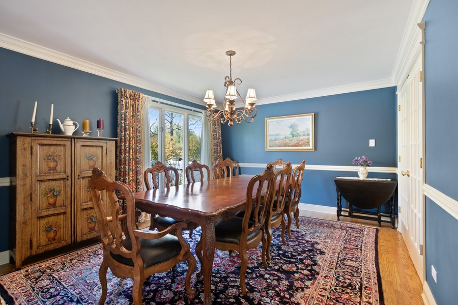 Real Estate Photography - 1570 Everett, Lake Forest, IL, 60045 - Dining Room