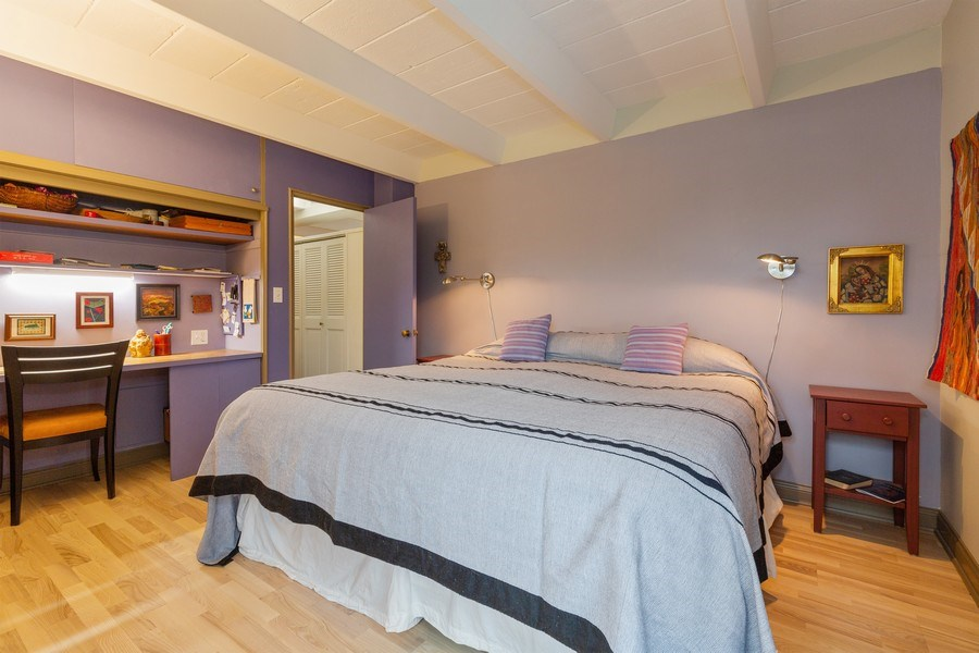Real Estate Photography - 1864 Sherman, Unit 6NE, Evanston, IL, 60201 - Bedroom