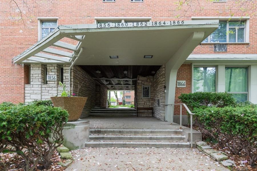 Real Estate Photography - 1864 Sherman, Unit 6NE, Evanston, IL, 60201 - Front View