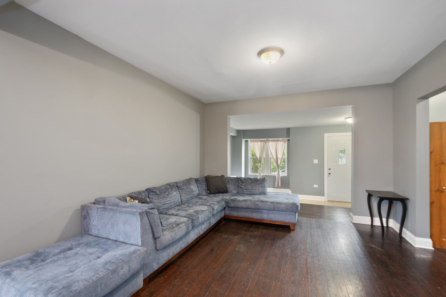 Real Estate Photography - 939 N Lorel Ave, Chicago, IL, 60651 - Living Room