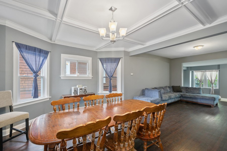 Real Estate Photography - 939 N Lorel Ave, Chicago, IL, 60651 - Dining Room