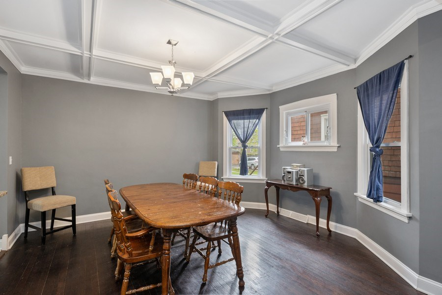 Real Estate Photography - 939 N Lorel Ave, Chicago, IL, 60651 - Dining Area