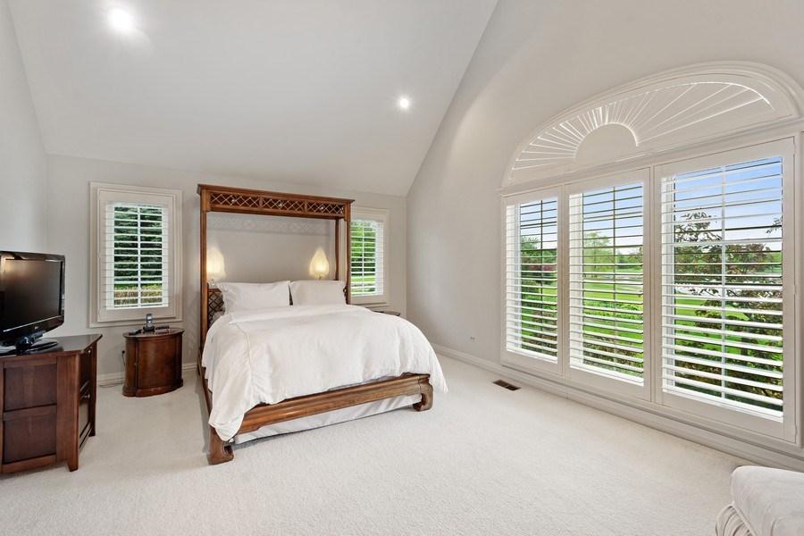 Real Estate Photography - 7 Westlake Dr, South Barrington, IL, 60010 - Master Bedroom