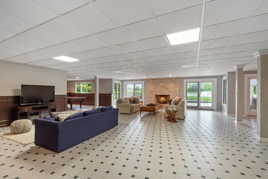 Real Estate Photography - 7 Westlake Dr, South Barrington, IL, 60010 - Basement