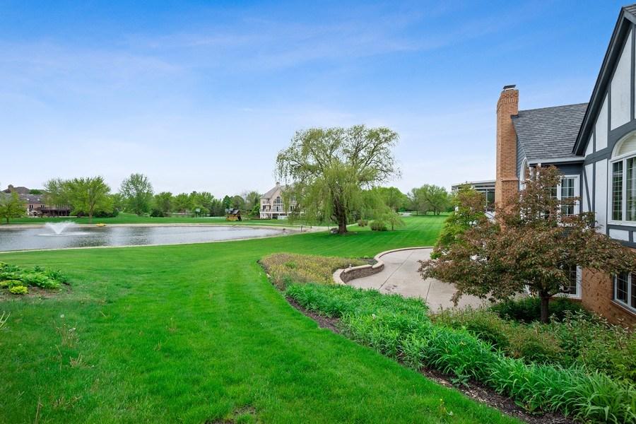 Real Estate Photography - 7 Westlake Dr, South Barrington, IL, 60010 - Back Yard