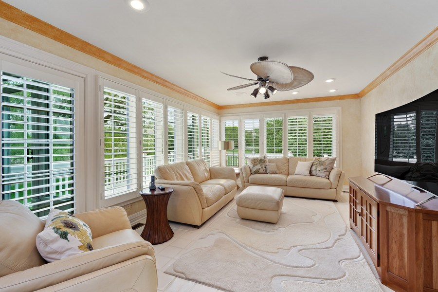 Real Estate Photography - 7 Westlake Dr, South Barrington, IL, 60010 - Family Room
