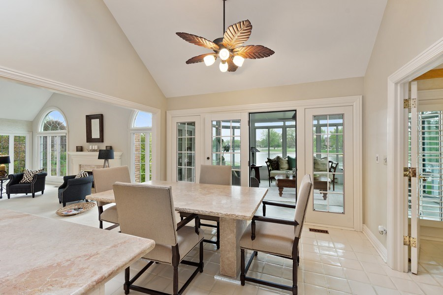 Real Estate Photography - 7 Westlake Dr, South Barrington, IL, 60010 - Breakfast Area