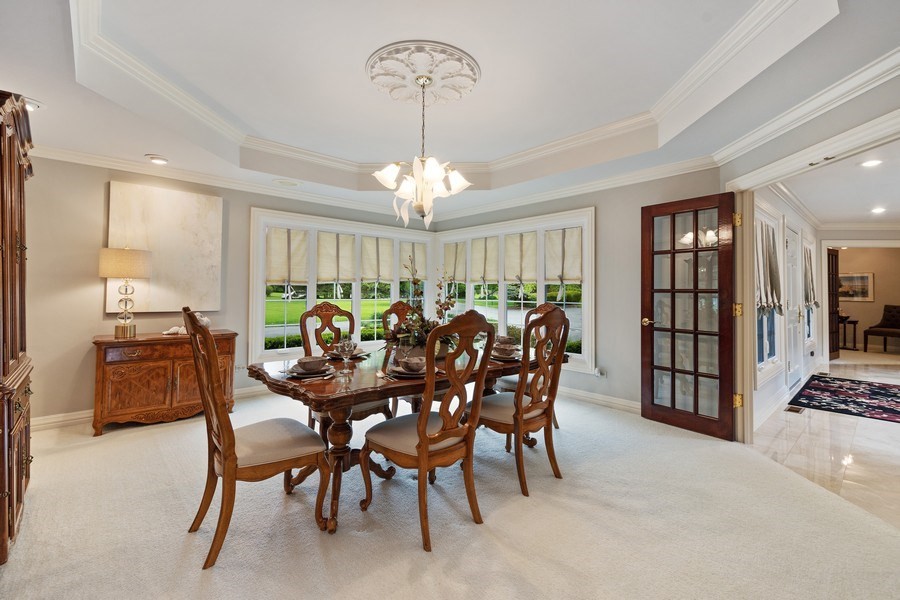 Real Estate Photography - 7 Westlake Dr, South Barrington, IL, 60010 - Dining Room