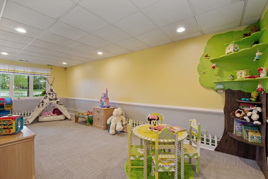 Real Estate Photography - 7 Westlake Dr, South Barrington, IL, 60010 - Play / Recreational Room
