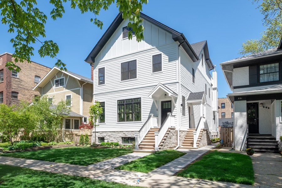 Real Estate Photography - 555 Michigan Ave, Unit 2, Evanston, IL, 60202 - Front View